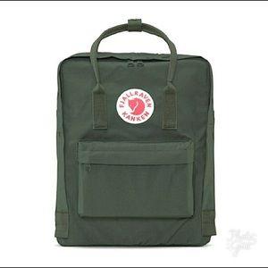 Fjallraven Kanken Original Forest Green Backpack